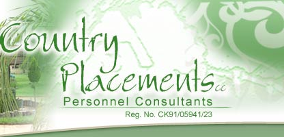 Personnel Consultants - Country Placements Job recruitment agency logo